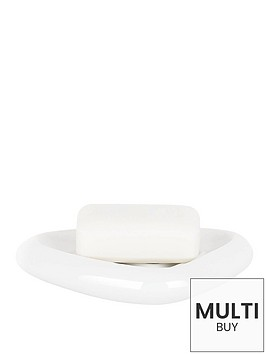 spirella-etna-shiny-white-soap-dish
