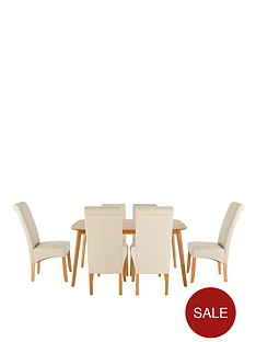 charles-120-cm-dining-table-with-4-brook-faux-leather-chairs