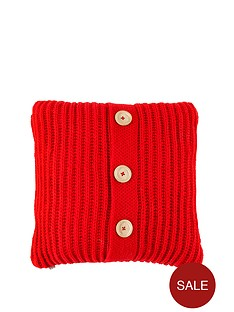 catherine-lansfield-knitted-cushion-red-45-x-45-cm