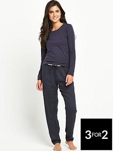 tommy-hilfiger-tommy-hilfiger-navy-woven-lounge-pants