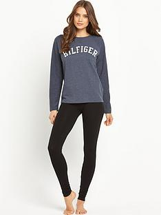 tommy-hilfiger-sweat-logo-lounge-top