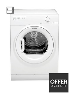 hotpoint-aquarius-tvfm70bgp-7kgnbspload-vented-tumble-dryer-white