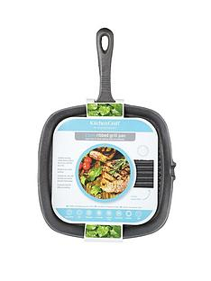 kitchen-craft-23-cm-enamelled-cast-iron-square-grill-pan