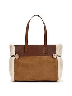 ugg-australia-bailey-shearling-tote-bag-chestnut