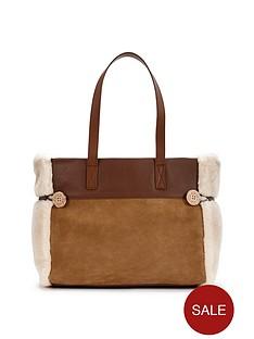 ugg-australia-bailey-shearling-tote-bag-chestnut
