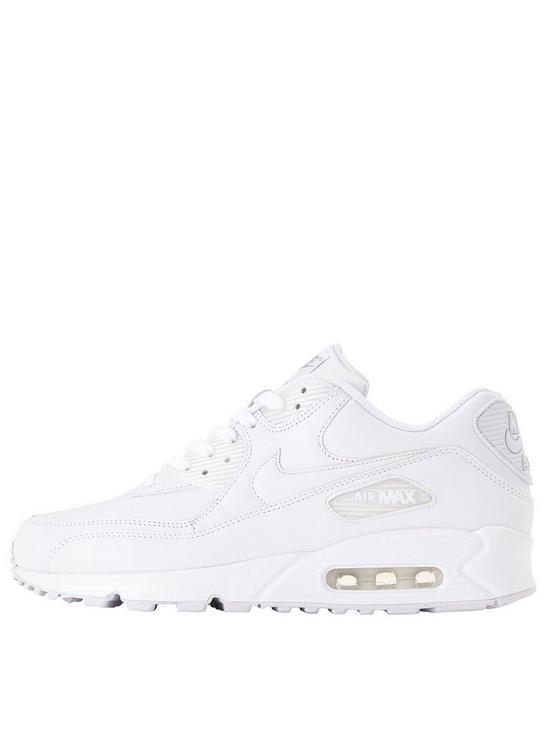 Air Max 90 Mens Leather Trainers