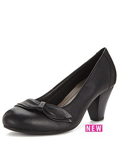 foot-cushion-tonia-mid-heel-leather-court-black-std-fit