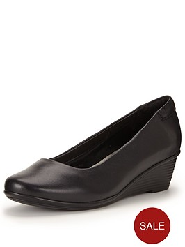 foot-cushion-foot-cushion-patricia-round-toe-mid-wedge-leather-shoes