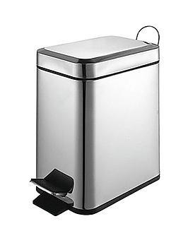 sabichi-5-litre-slimline-pedal-bin-stainless-steel