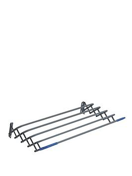 sabichi-expanding-clothes-airer-grey