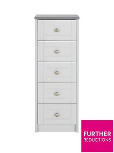 alderley-ready-assembled-narrow-5-drawer-chest