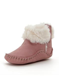 clarks-baby-girls-cuddle-booties-pram-shoes