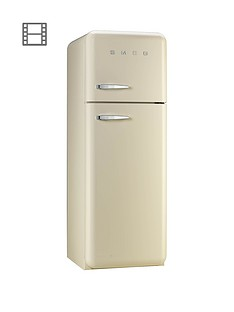 smeg-fab30rfc-60cm-50s-retro-style-fridge-freezer-cream