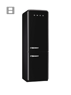 Smeg FAB32RNN 60cm Fridge Freezer - Black