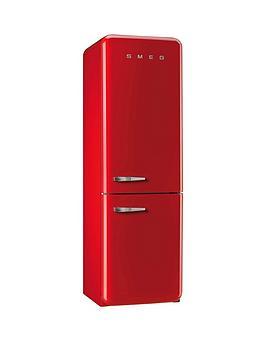 Image of Smeg Fab32Rnr 60Cm Fridge Freezer - Red