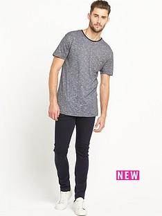 goodsouls-black-fashion-textured-oversize-t-shirt