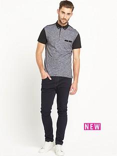 goodsouls-textured-short-sleevenbsppolo-shirt