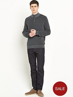 ted-baker-ribbed-detail-funnel-neck-mens-jumper