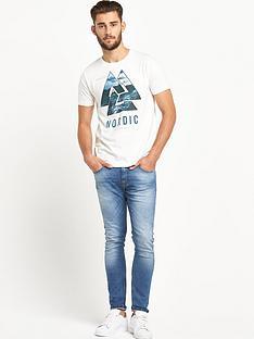 goodsouls-white-fashion-short-sleeve-triangular-print-t-shirt