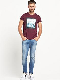 goodsouls-goodsouls-burgundy-fashion-short-sleeve-copenhagen-print-t-shirtnbsp