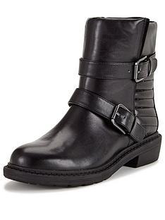 clarks-danelle-mist-flat-biker-ankle-boot