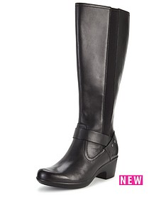 clarks-malia-waves-leather-knee-boot