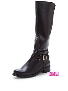clarks-nessa-abbey-black-knee-boot