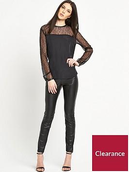 boss-lace-top-blouse