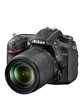 nikon-d7200-242-megapixel-dslr-camera-18-105mm-lens-black-save-pound100-with-voucher-code-lxjy3