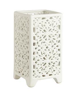 Fretwork Table Lamp