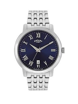 rotary-sloane-blue-dial-stainless-steel-bracelet-mens-watch