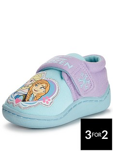 disney-frozen-younger-girls-frozen-heart-badge-slippers
