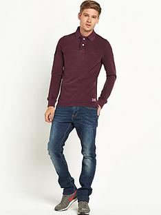superdry-vintage-destroyed-long-sleeve-hit-polo