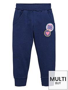 ladybird-toddler-girls-essential-blue-marl-joggers-1-7-years