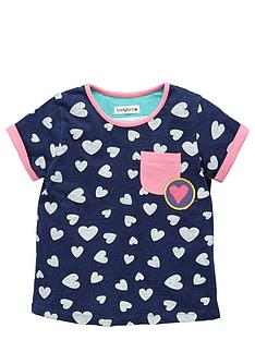 ladybird-toddler-girls-navy-marl-heart-print-tshirt-1-7-years