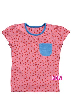 ladybird-girls-pack-of-5-mix-up-marl-and-plain-t-shirts-12-months-7-years