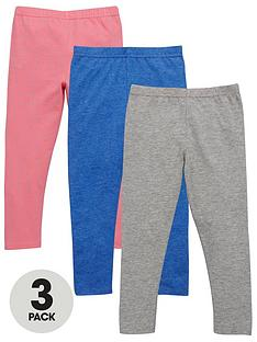 ladybird-girls-spot-and-colour-leggings-3-pack-12-months-7-years