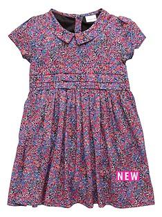 ladybird-girls-floral-crepe-collar-dress-12-months-7-years