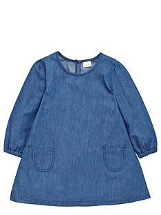 ladybird-toddler-girls-pretty-chambray-amp-broderais-lace-dress-1-7-years