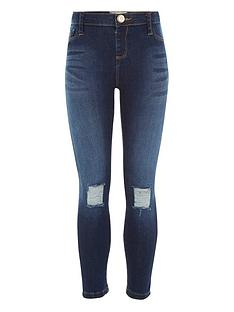 river-island-girls-ripped-knee-jeggings