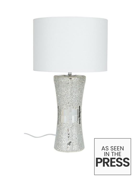 Glitz table lamp very co uk