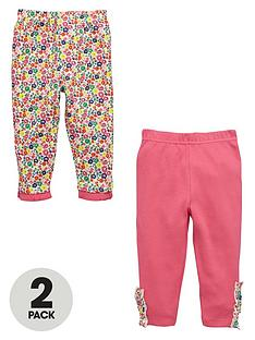 ladybird-baby-girl-2pretty-frill-floral-leggings-2-pack