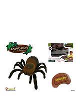 Infrared Remote Control Flocked Spider