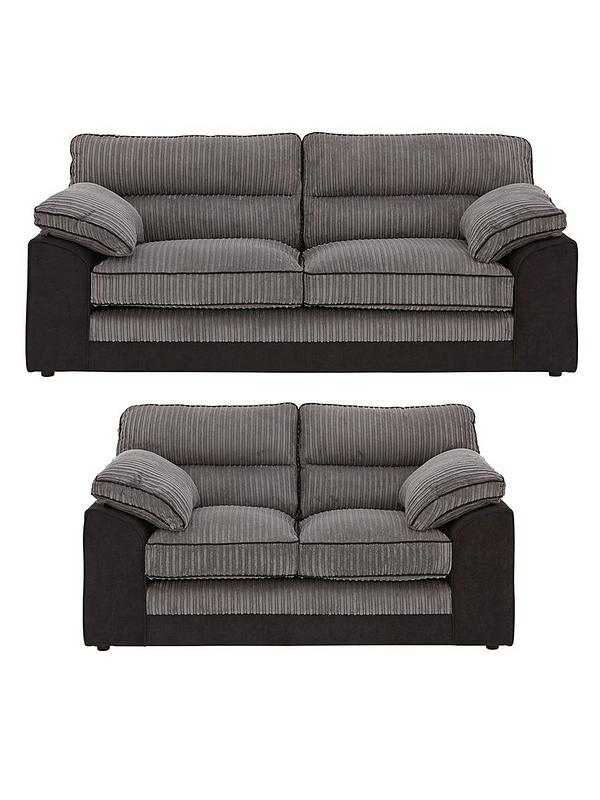 Wondrous Delta 3 Seater 2 Seater Fabric Sofa Set Buy And Save Machost Co Dining Chair Design Ideas Machostcouk