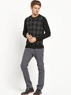 ben-sherman-check-mens-jumper