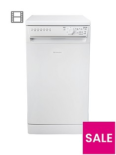 Hotpoint Aquarius SIAL11010P 10-Place Slimline Dishwasher - White Best Price, Cheapest Prices