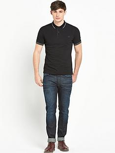fred-perry-double-collar-pique-mensnbsppolo-shirt