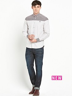 fred-perry-long-sleeve-oxford-striped-shirt