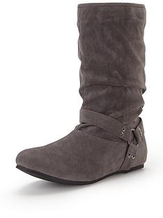 shoe-box-nicolette-imi-suede-ring-detail-ankle-boot-grey