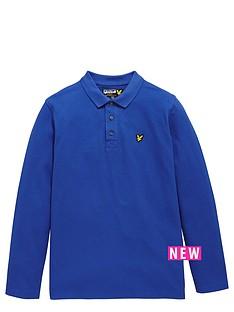 lyle-scott-long-sleeve-classic-boys-polo